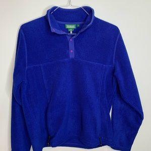 L.L. Bean Longsleeve fleece pullover